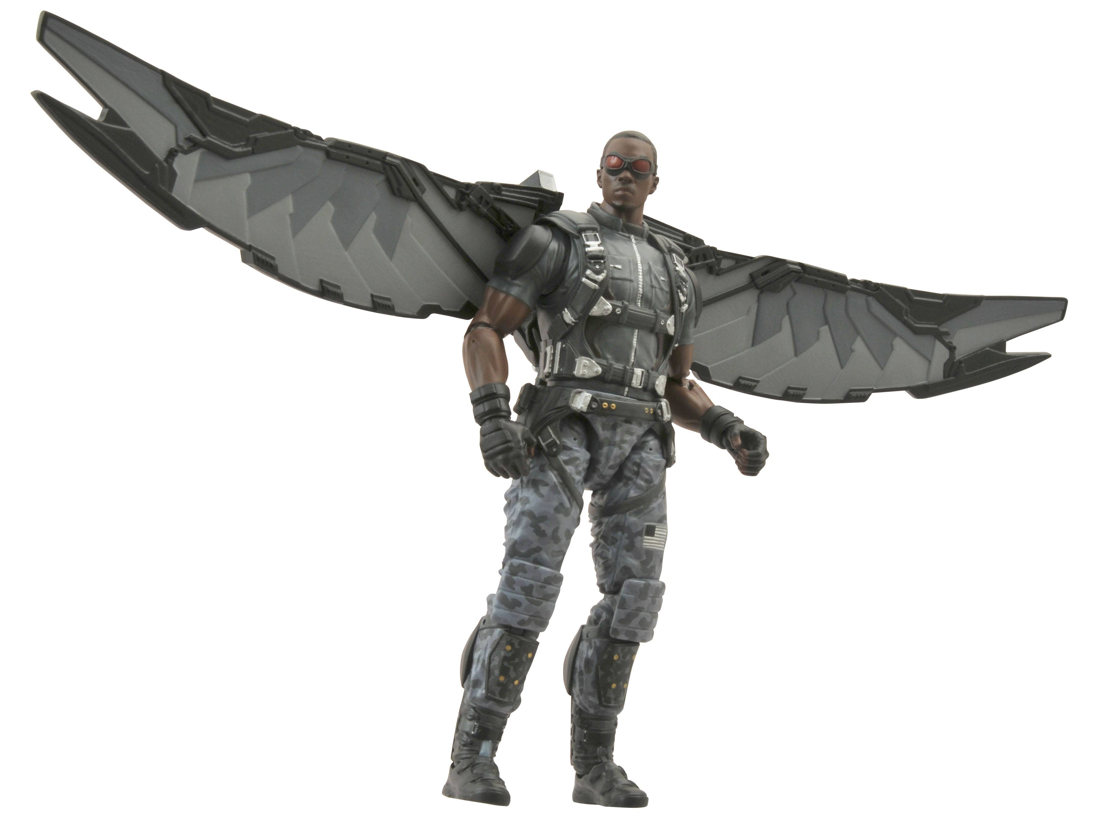 Marvel Select Captain America 2 Winter Soldier Falcon 18cm