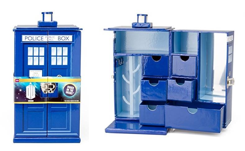 Id9 doctor who tardis boite bijoux carton - Boite a bijoux en carton fabrication ...