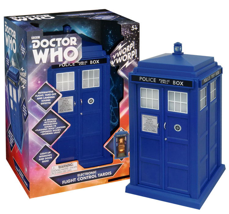 Id9 doctor who tardis flight control sonore et lumineux for Decoration porte tardis