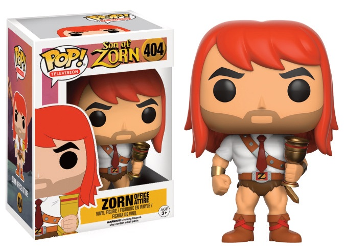 Streng Funko Pop Zorn BÜro Kleidung 404 Son Of Zorn Figure 9 Cm Hot Topic Exclusive #1 Action- & Spielfiguren