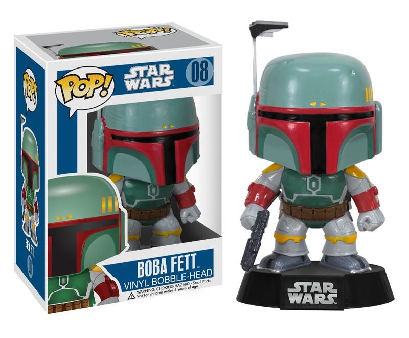 SW Pop Boba Fett figurine Funko 9cm