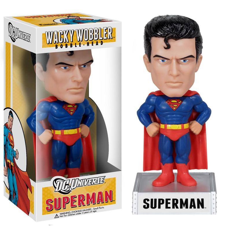 DC Heroes Vinyl BBH Superman Bobblehead 18cm