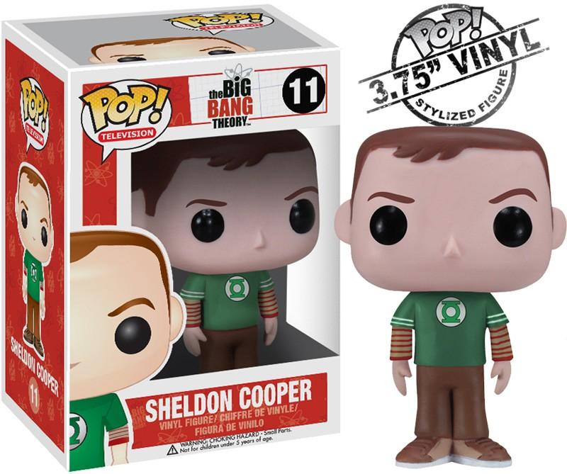 Big Bang Theory Pop Sheldon Green Lantern 10cm