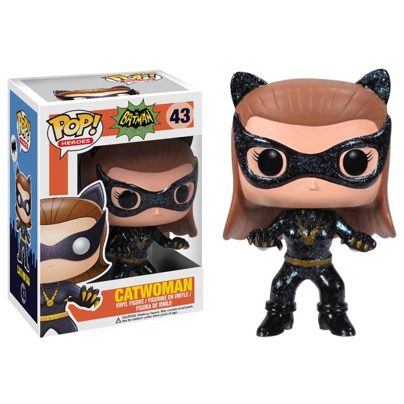Batman 1966 Pop Catwoman figurine 10cm