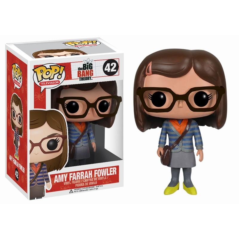 Big Bang Theory Pop Amy Farrah Fowler 10cm figure
