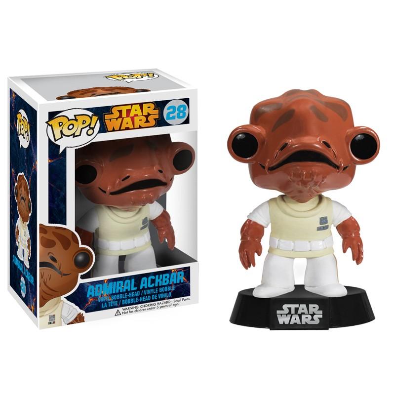 SW Pop Admiral Ackbar figurine Funko