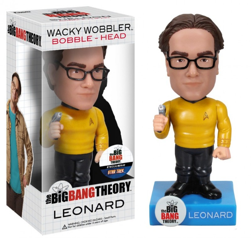 Big Bang Theory Bobblehead Star Trek Outfit Leonard