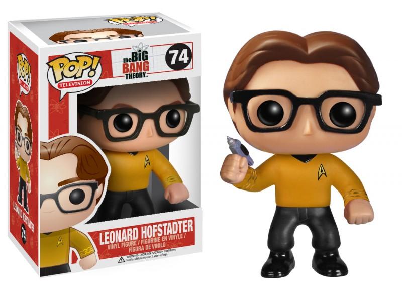 Big Bang Theory Pop Star Trek Leonard 10cm