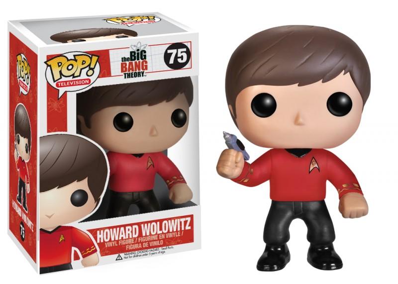 Big Bang Theory Pop Star Trek Howard 10cm