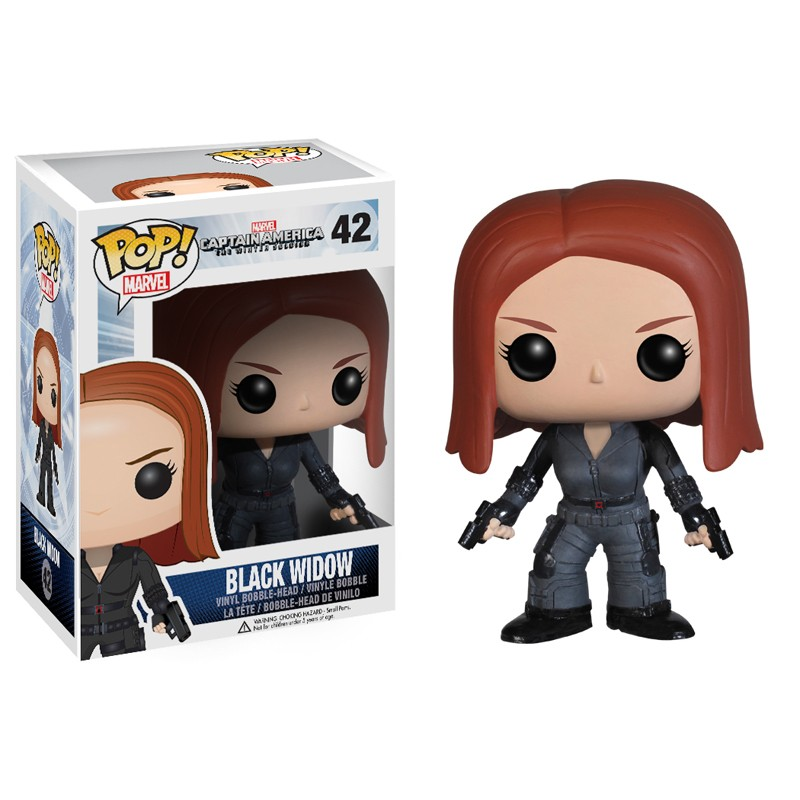Marvel Pop Captain America 2 Black Widow figurine 10cm