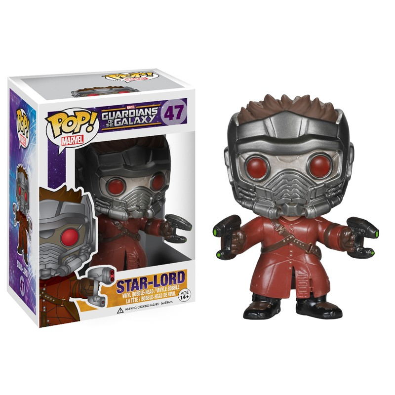 Marvel Pop Guardians of the Galaxy Star-Lord 9cm