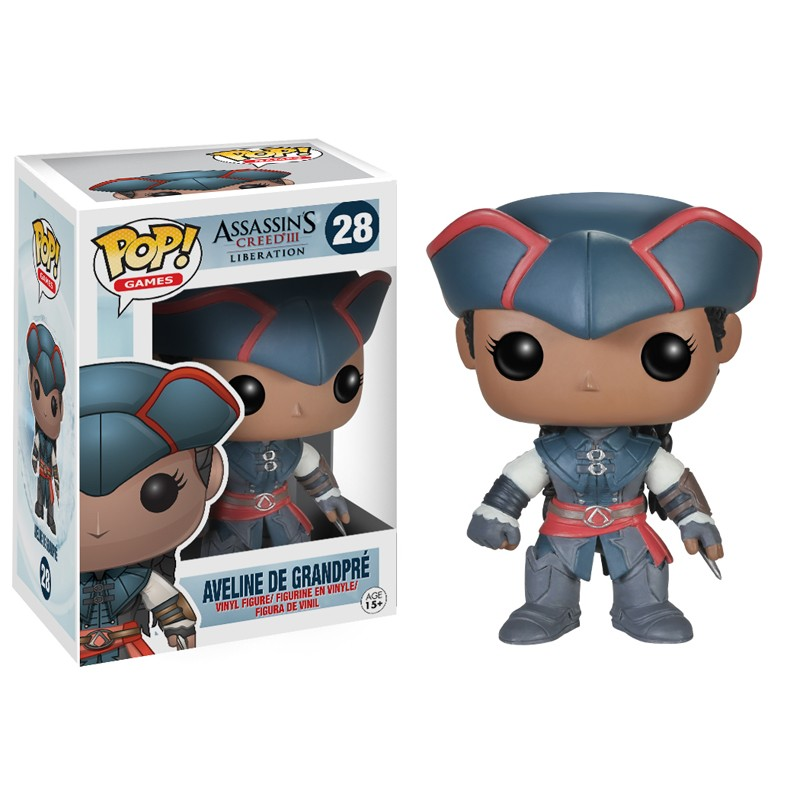 Assassins Creed Pop Aveline de Grandpré Vinyl 10cm