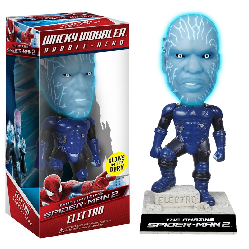 Amazing Spider-man 2 Movie Electro Bobblehead 18cm