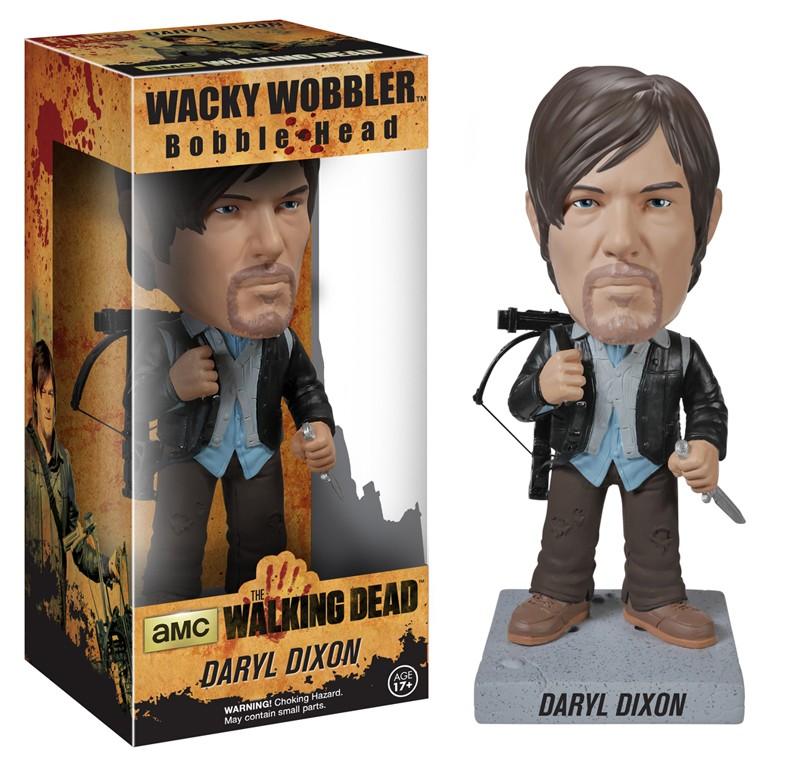 Walking Dead Bobblehead 18cm vinyl Daryl Dixon Hunter version