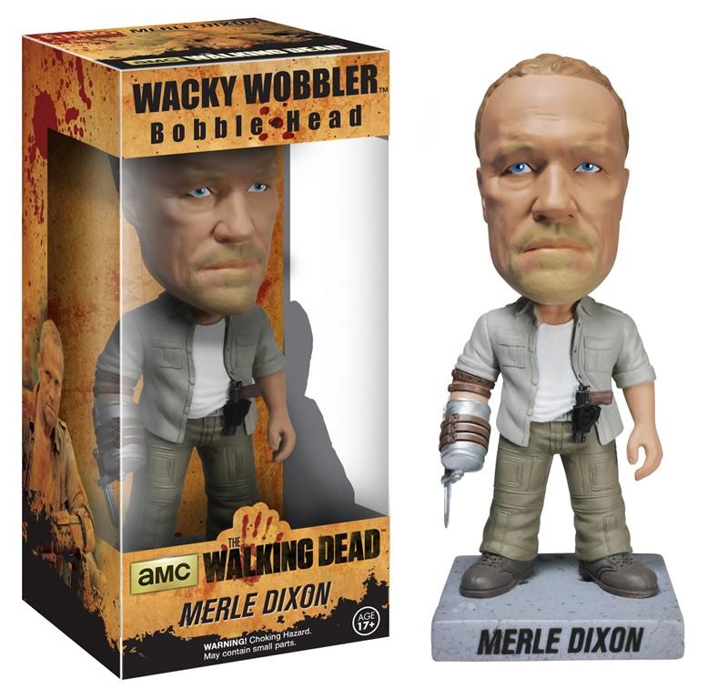 Walking Dead Bobblehead 18cm vinyl Merle Dixon