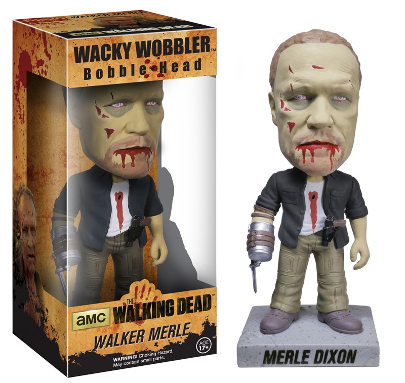 Walking Dead Bobblehead 18cm vinyl Merle Dixon Zombie