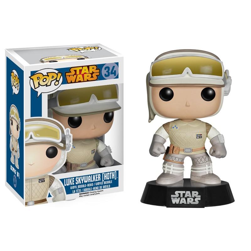 SW Pop Luke Skywalker Hoth figurine Funko