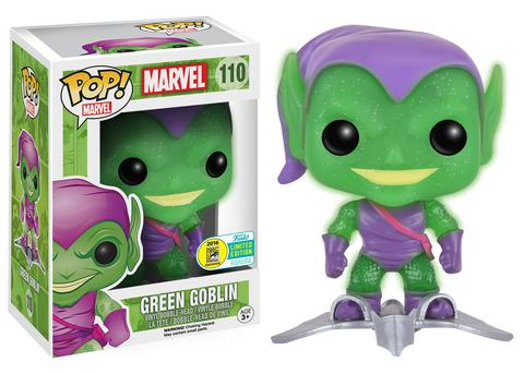 Id9 Zz Rip Zz Marvel Pop Sdcc 2016 Green Goblin Glider Exclu