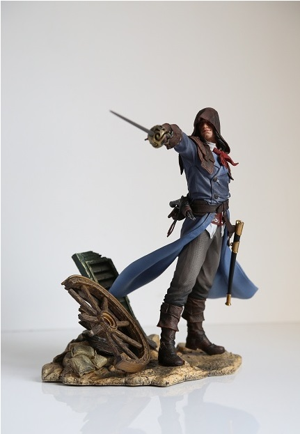 Assassins creed Unity Arno pvc Statue 24cm