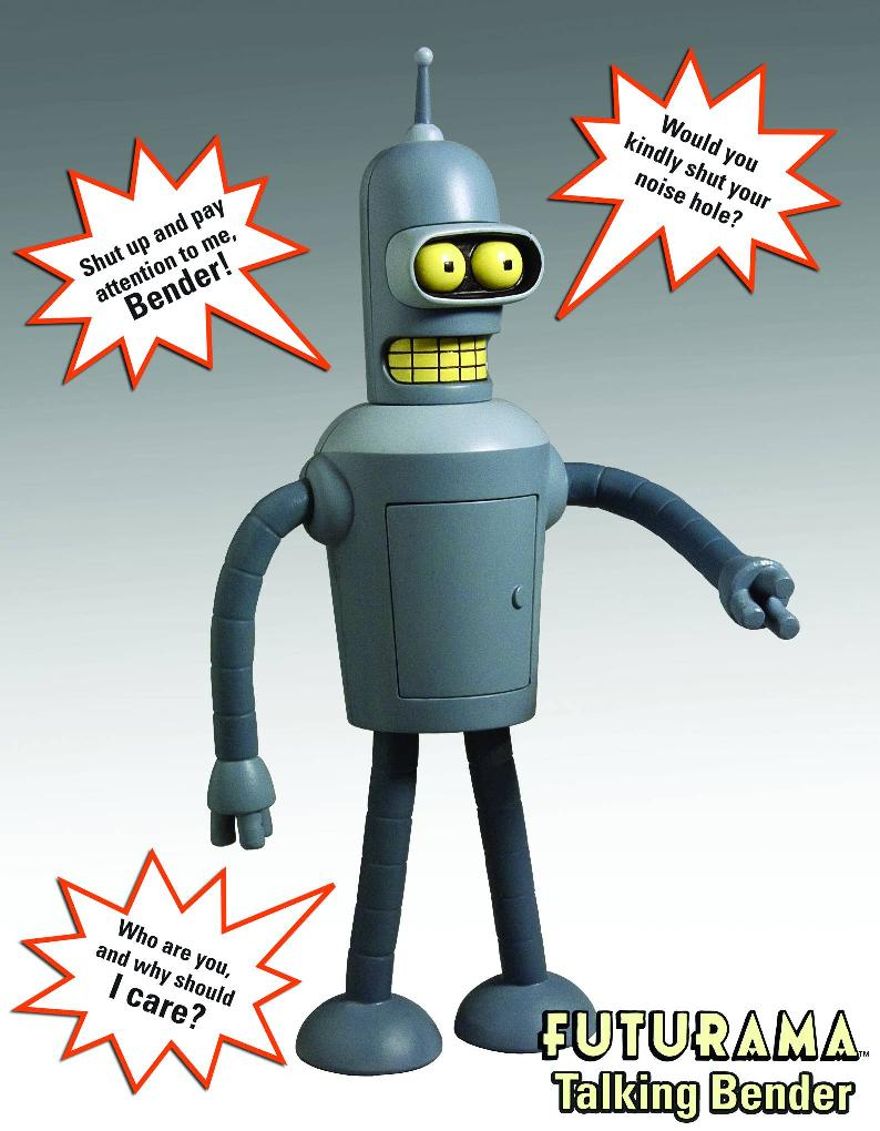 Futurama Bender sonore 22cm