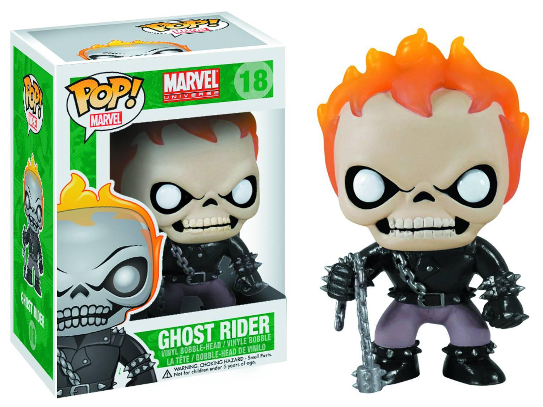 Marvel Pop Ghost Rider figurine 10cm