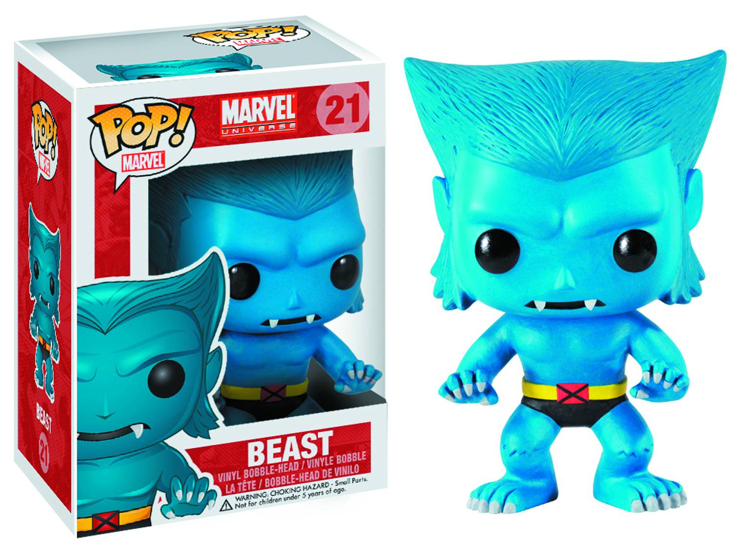 Marvel Pop X-Men Beast figurine 10cm