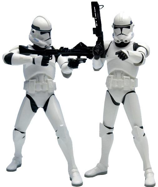 SW Clone trooper 2 pack ARTFX et Kotobukiya