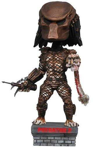 Predator Brown Masked Predator headknocker 20cm neca V3