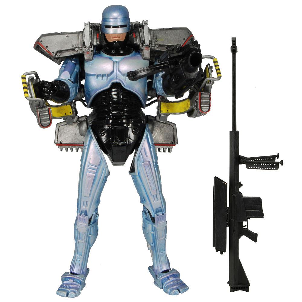 Robocop Jetpack et Canon D'assault figurine 18cm