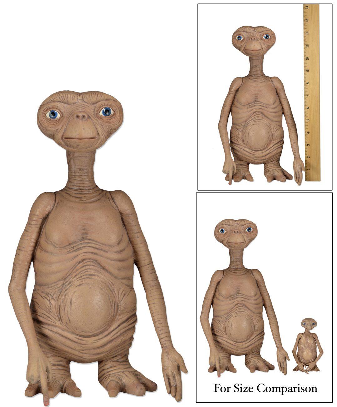 E.T. L extraterrestre Stunt Puppet 30cm