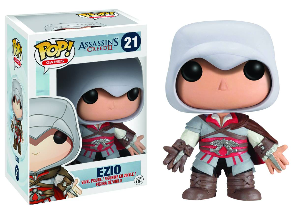 Assassins Creed Pop Ezio Vinyl 9cm