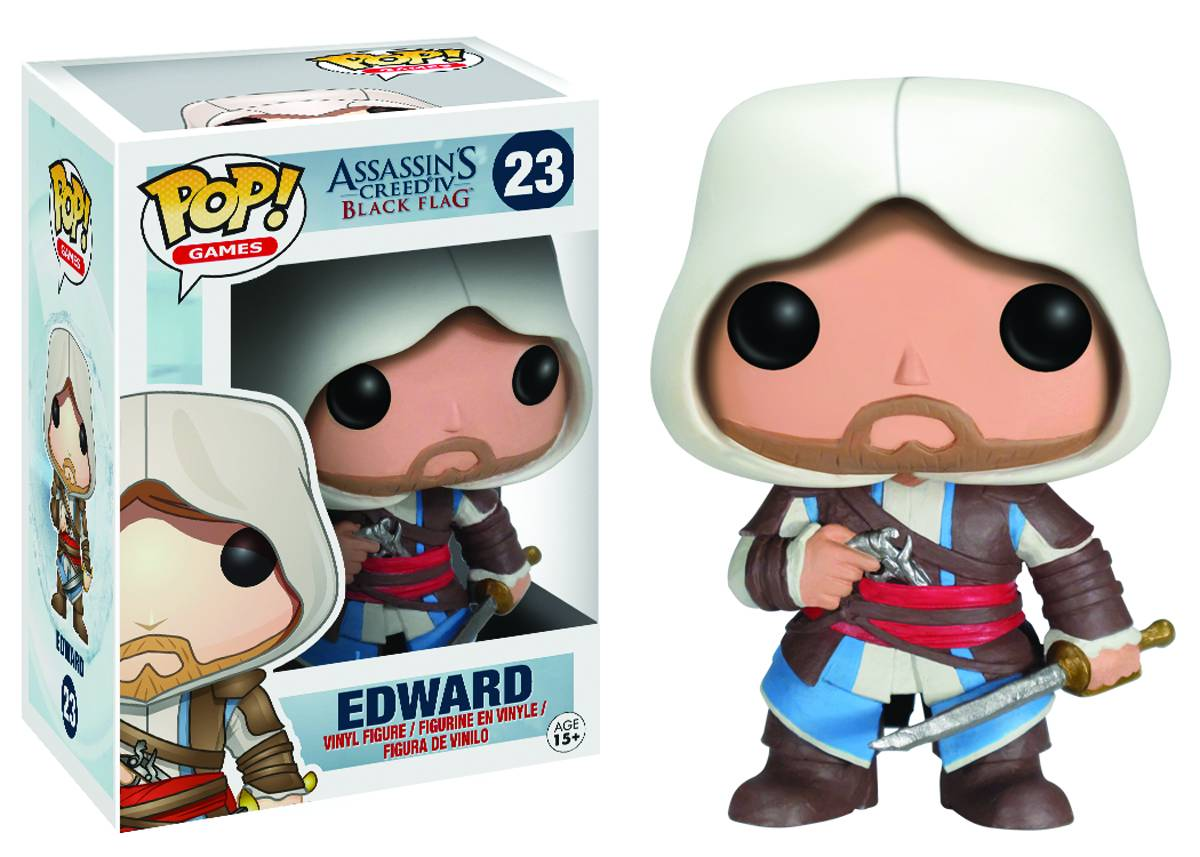 Assassins Creed Pop Edward Vinyl 9cm