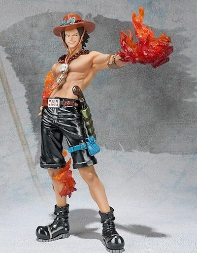 One Piece Figuarts Portgas D. Ace Metal color 14cm