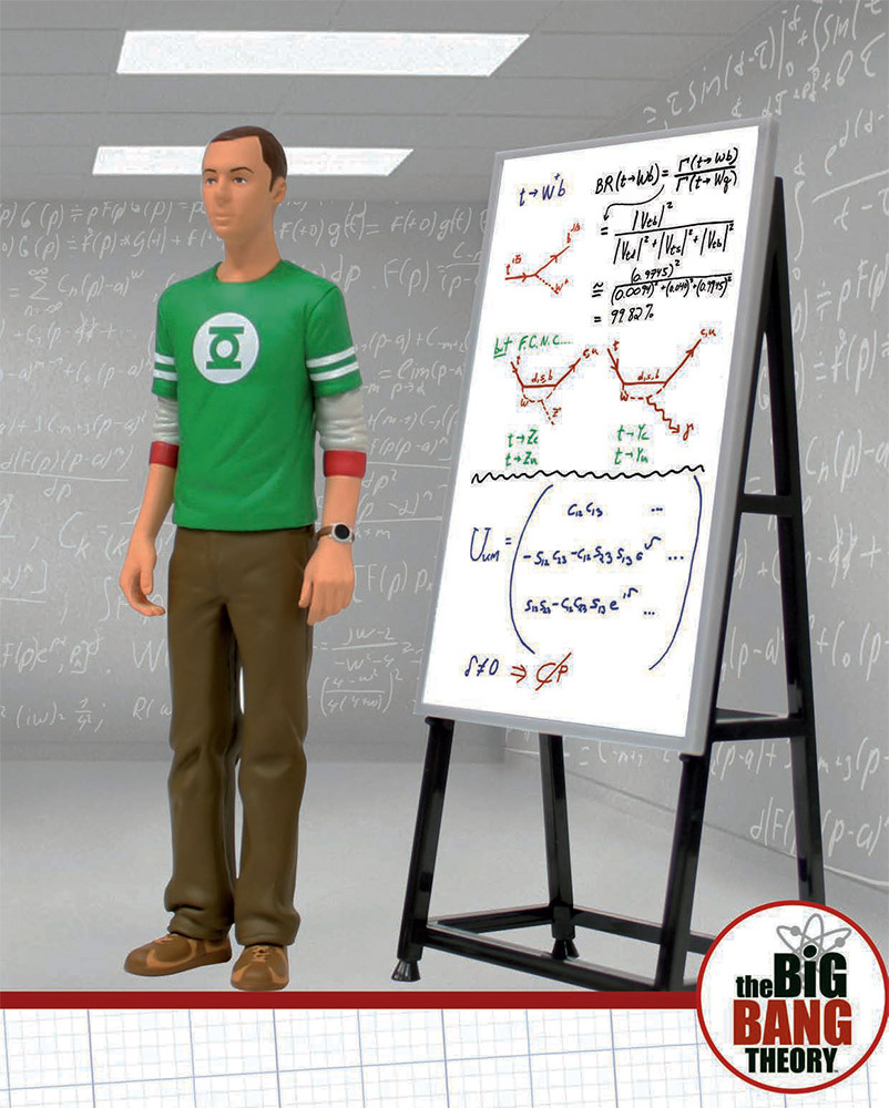 Big Bang Theory figurine 18cm Sheldon Cooper