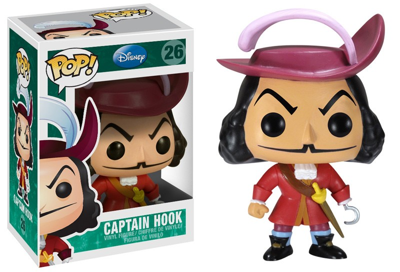 Id9 Zz Rip Zz Disney Pop Peter Pan Capitaine Crochet