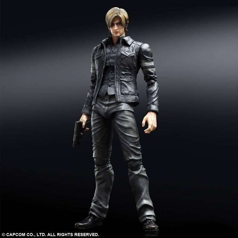 Resident Evil 6 Leon S Kennedy Play Arts Kai 24cm