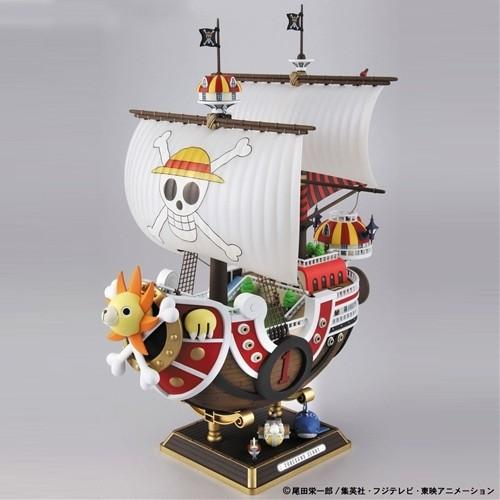 id9 one piece maquette thousand sunny. Black Bedroom Furniture Sets. Home Design Ideas